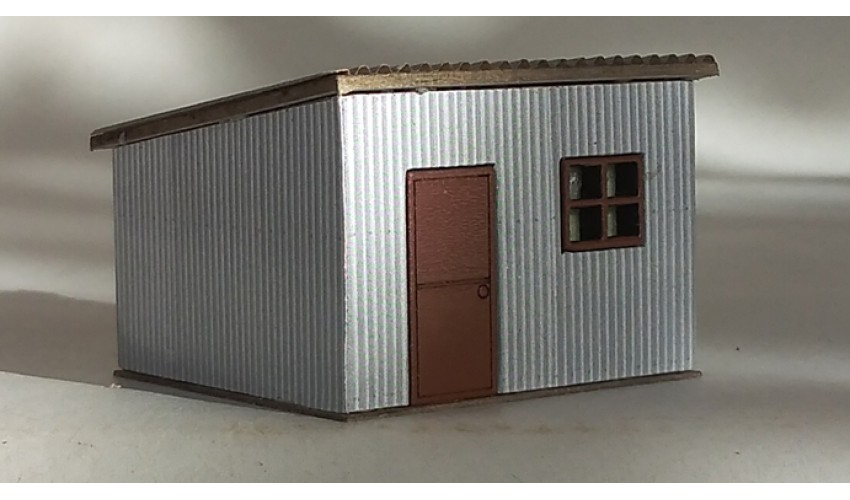 Small Steel Shed